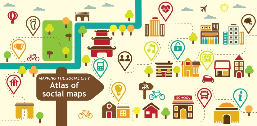 Mapping The Social City Introducing The Atlas Of Social Maps - How do maps help us