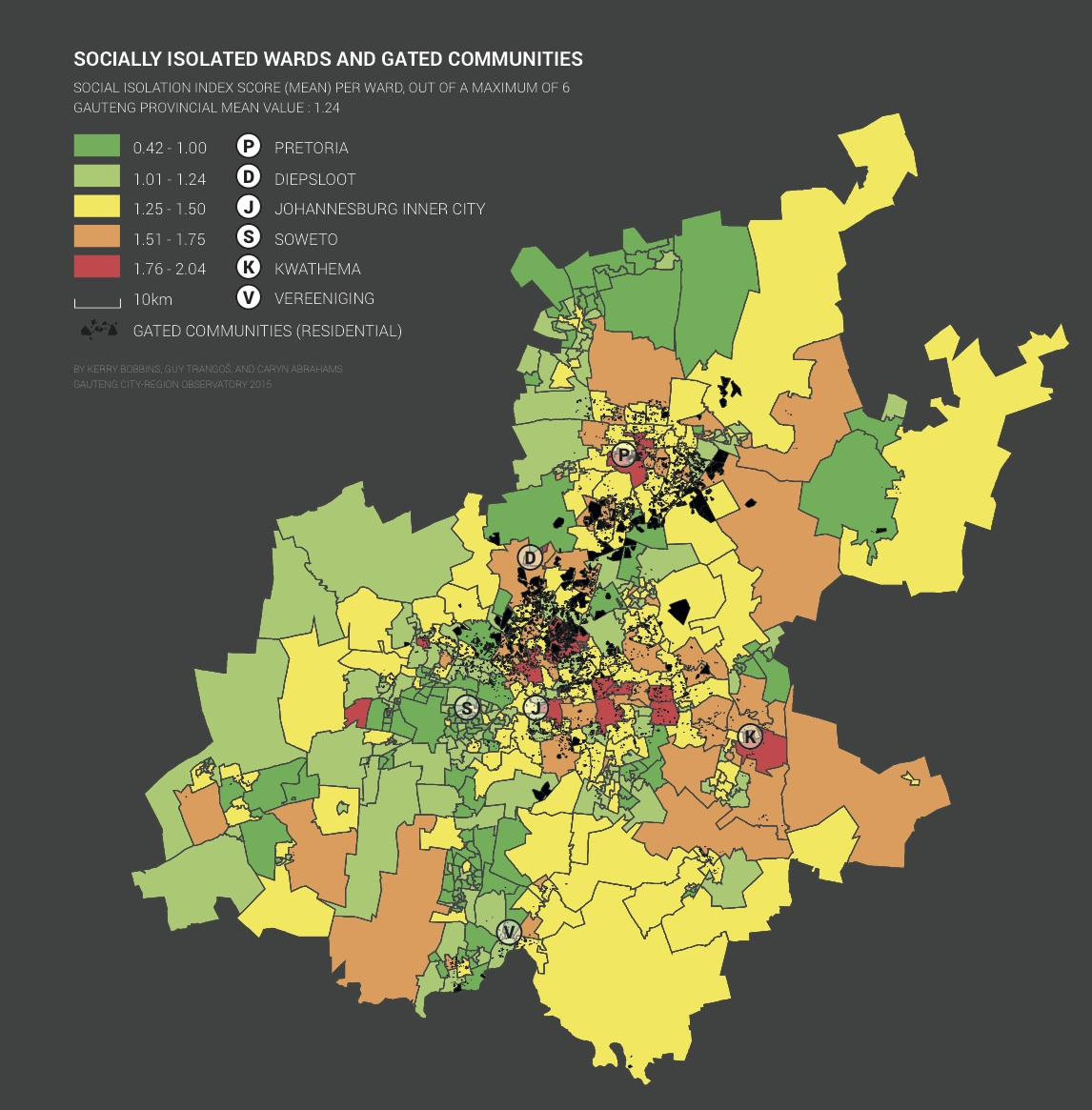Mapping South Africa Social Life